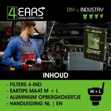 4EARS DIY & INDUSTRY vanaf € 13,95