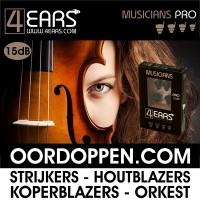 4EARS MUSICIANS PRO 15dB