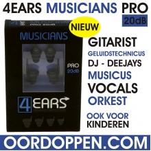 4EARS MUSICIANS PRO 20dB