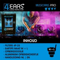 4EARS MUSICIANS PRO 25dB - DJ
