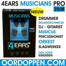 4EARS MUSICIANS PRO 25dB