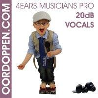 4EARS MUSICIANS PRO 20dB Vocals