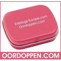 Opbergdoosje Roze Oordoppen-com
