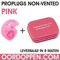 3 setjes | Proplugs non-vented XXL - Roze