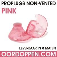 1 setje | Proplugs non-vented S - Roze