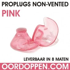 Losse Proplugs non-vented | Roze