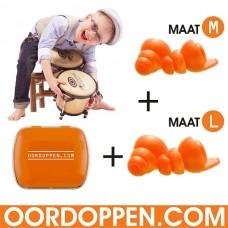 Oordopjes - Music Kingsday Actie 1+1