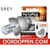Alpine PartyPlug Grijs (out of stock)