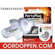 Alpine PartyPlug Transparant