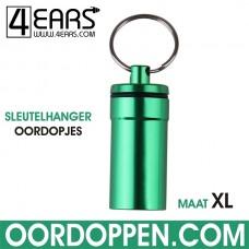 4EARS Sleutelhanger Oordoppen maat XL - Groen