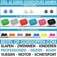 Oordoppen.com Custompack