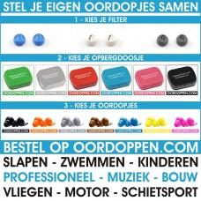 Oordoppen.com Custompack