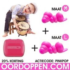 Oordopjes - Music Pinkpop Actie