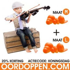 Oordopjes - Music Kingsday Actie