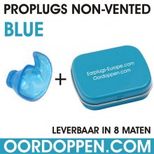 Proplugs non-vented / Blauw