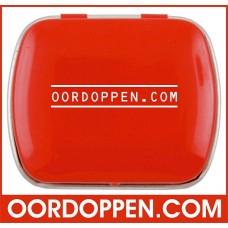Opbergdoosje Rood Klein Oordoppen-com