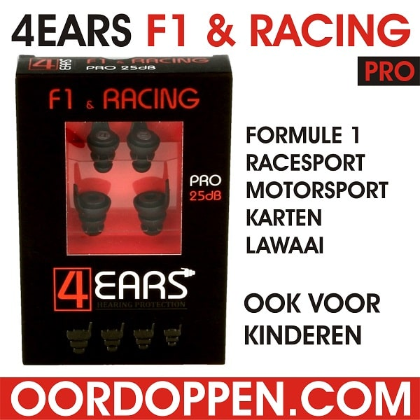 Oordopjes Formule 1 | Oordoppen F1 | Racesport | Motorsport | Motorcross | Karten